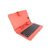 Funda Con Teclado Para Tablet 7° Salida V8 Y Usb Oferta