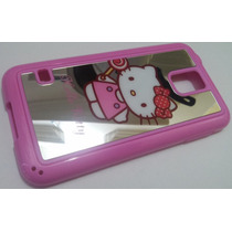 Tpu Air Espejo Rosa Samsung Galaxy S5 G900 Mobo Hello Kitty