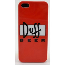 Funda Case Cerveza Duff Iphone 5/5s Hm4