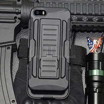 Funda Future Armor Case Militar Iphone 4 Clip Cinturon