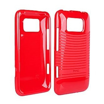 Htc Oem Tpu Silicone Skin Case For Htc Titian Ll Color Rojo