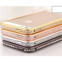 Bumper Para Iphone 5/5s Con Cristales Zirconia Color A Eleg