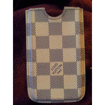 Funda Iphone 4 Louis Vuittton Original Damier Azur