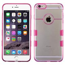 Funda Case Protector Doble Transparente Iphone 6 Plus Hp
