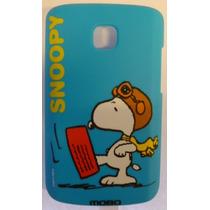 Funda Protector Mobo Lg L1x E410 Snoopy Azul