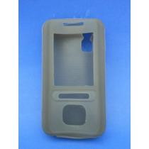 Silicon Skin Case Para Nokia 5610 Color Gris