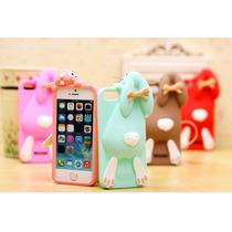 Funda Para Iphone 5 / 5s Conejo 3d Moschino