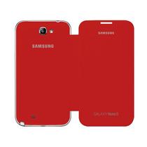 Samsung Galaxy Note 2 N7100 Flip Cover Original Rojo