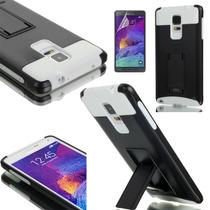 Samsung Galaxy Note 4 Funda Impacto Con Soporte +mica/stylus