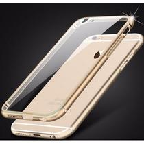 Bumper D Aluminio Iphone 6 Mica Doble Frontal&trasera Gratis
