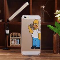 Funda Carcasa De Homero Simpson Para Iphone 6 / 6 Plus