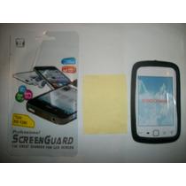 Kit 3x1 Silicon+ Mica Matte+ Paño Blackberry 9380 Curve!!!
