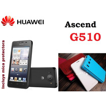 Funda Vinipiel Huawei Ascend G510 + Mica Protectora Pantalla