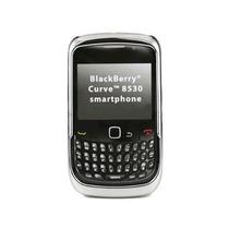 Blackberry Curva 2 8530 Chasquido-en Duro Caso - Cromo