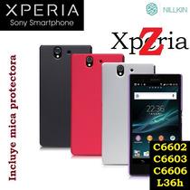 Funda Nillkin Sony Xperia Z C6602, C6603, L36h + Mica