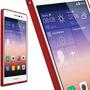 Bumper Huawei Ascend P7 Aluminio Rojo