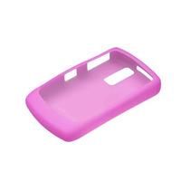 Oem Blackberry 8350i Silicona Piel Caso - Rosa