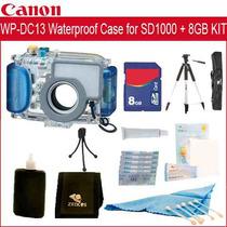 Canon Wp-dc13 Carcasa Submarina Para Sd1000 Mas Kit