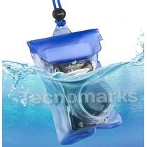 Funda Sumergible Para Cámara Digital Contra El Agua 20 M