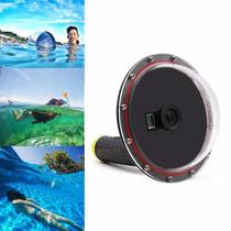 Go Pro Hero Telesin Domo Sumergible Acuático Surf Snorkel