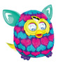 Tb Furby Pink And Blue Hearts Boom Plush Toy