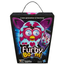 Tb Furby Boom Pink Hearts Plush Toy