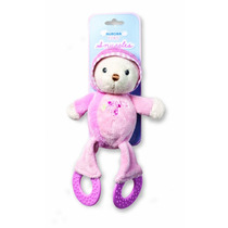 Juguete Mimoso - Snuggles Mordedor Pink 14cm Aurora Juguetes
