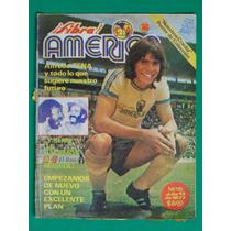 1977 Alfredo Tena Revista Fibra America #115 Aguilas Futbol