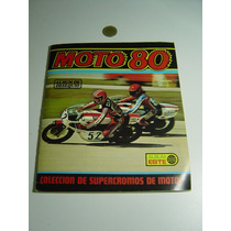 Antiguo Album Moto 80 Album Este Colección De Supercromos De