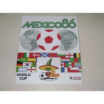 Album Panini Mexico 86 Nuevo Completo.