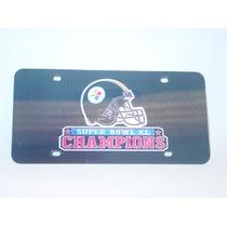 Pittsburgh Steelers-super Bowl Xl Champions Placa Lenticular