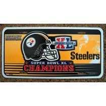 Pittsburgh Steelers-super Bowl Xl Champions Placa