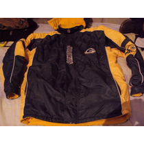 Chamarra Packers Green Bay Nfl Original Talla M Doble Vista