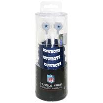 Audífonos Dallas Cowboys Shoelace Style Earbud Nfl
