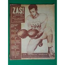1952 Futbol Americano Muñeca Bardan Pentatlon Revista Zas!