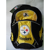 Mochila Nfl 100% Original Los Steelers
