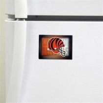 Cincinnati Bengals Imán Con Logotipo (5 Cm X 7.5 Cm)