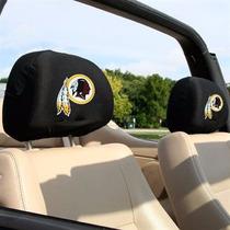 Washington Redskins 2 Fundas Para Reposacabezas Auto