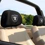 Oakland Raiders 2 Fundas Para Reposacabezas Auto