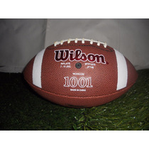 Balon Wilson 1001 Piel Sintetica Futbol Americano #j502