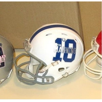 Mini Casco Nfl Baltimore Colts Y Nombre Jugador Nfl