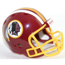 Casco Nfl Pocket Revolution Y Banderin Nfl Redskins