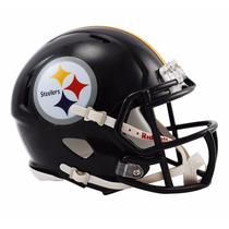 Casco Mini Speed Nfl Acereros Pittsburg Steelers Riddell
