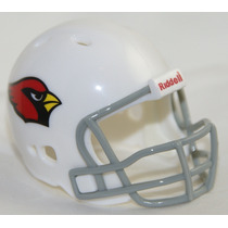 Casco Nfl Pocket Revolution Y Banderin Nfl Arizona Cardinals