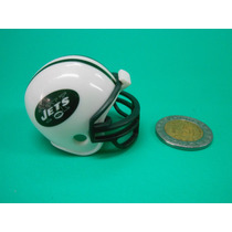 Mini Casco Pocket Pro Riddell Jets De Nueva York