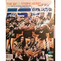 Foto Autografiada X Defensa Pittsburgh Steelers Acereros Nfl