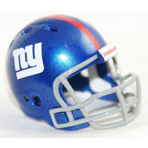 Casco Nfl Pocket Revolution Y Banderin Nfl New York Giants