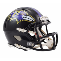 Casco Mini Speed Nfl Cuervos Baltimore Ravens Riddell