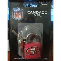 San Francisco 49ers Candado De Seguridad 32mm