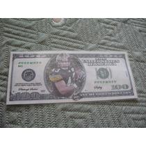 $100 Play Money Detailed Troy Polamalu Safety